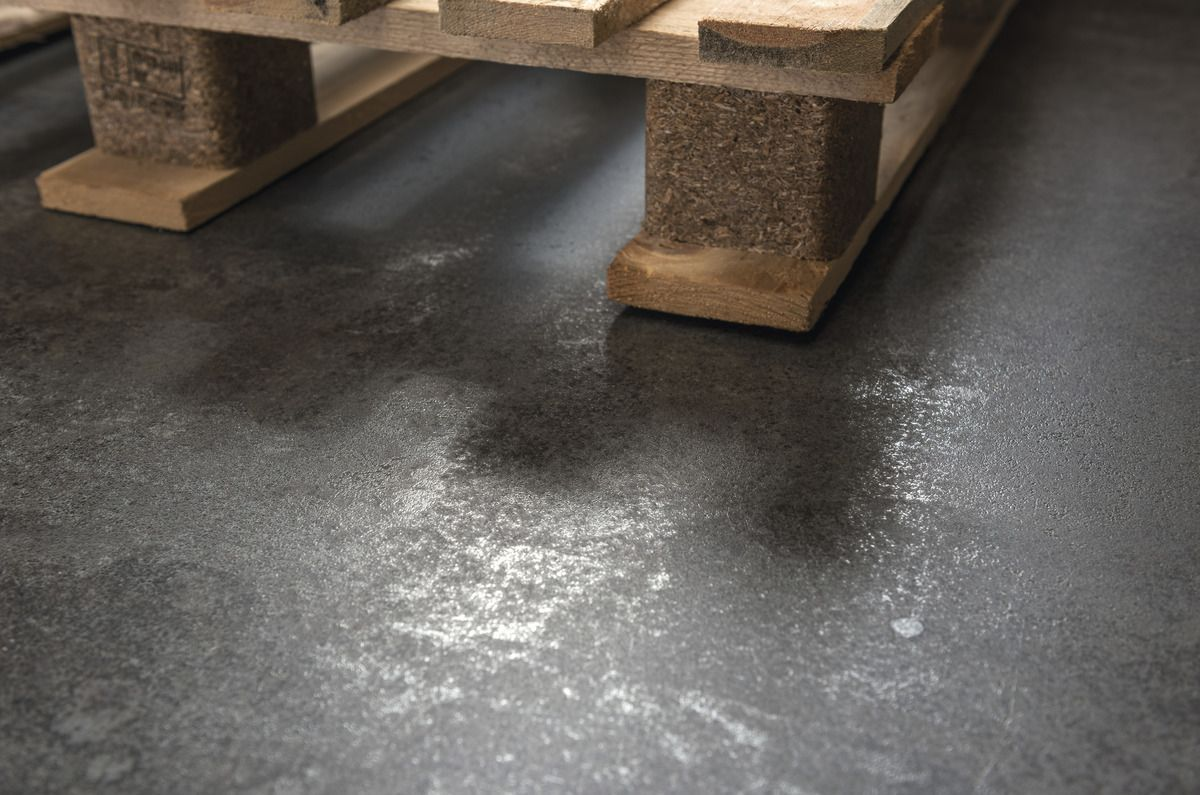 Grandes dalles en gr s c rame effet m tal blue zinc ultra metal - Piastrelle effetto metallo ...